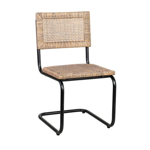 East at Main's Trixie Rattan Side Chair