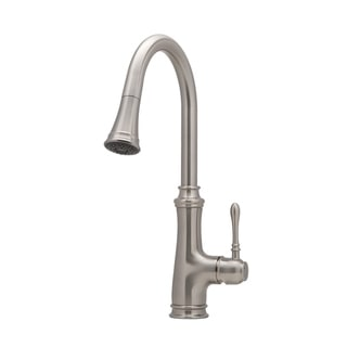 Ancona Villa Single Handle Pull-out Kitchen Faucet in Brushed Nickel
