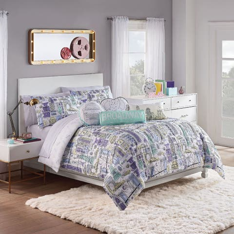 Waverly Spree Cityscape Reversible Comforter Set