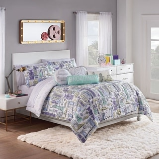 Link to Waverly Spree Cityscape Reversible Comforter Set Similar Items in Kids Comforter Sets
