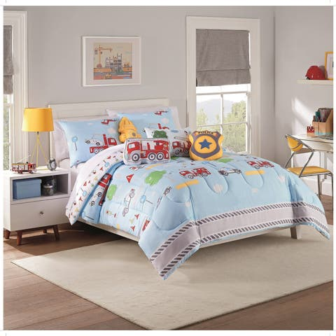 Waverly Kids Hero Squad Reversible Comforter Set