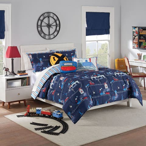 Waverly Kids All Aboard Reversible Comforter Set