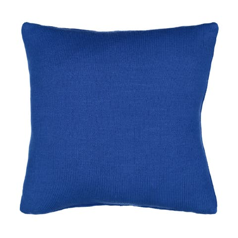 Waverly Spree Kitty City Knitted Decorative Pillow