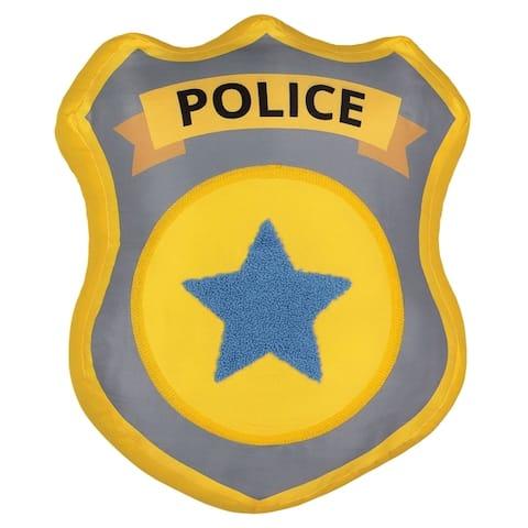 Waverly Kids Hero Squad Police Badge Decorative Pillow