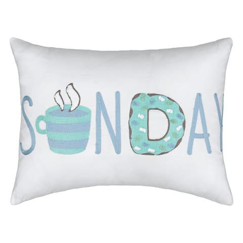 Waverly Spree Lights Out Sunday Decorative Pillow