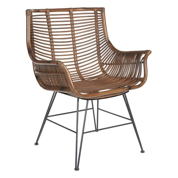 Dallas Chair with Rattan Frame. Opens flyout.