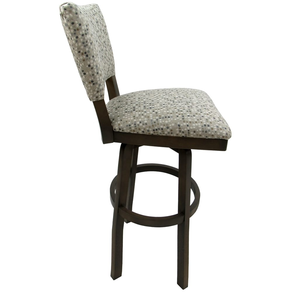 Incredible Shop Extra Tall Spectator Swivel Wood Bar Stool 34 Milan Unemploymentrelief Wooden Chair Designs For Living Room Unemploymentrelieforg