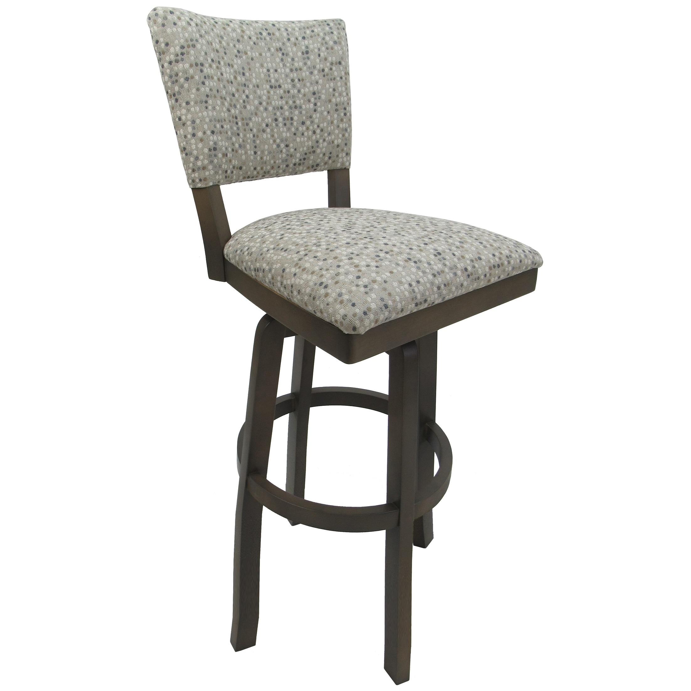 Tremendous Extra Tall Spectator Swivel Wood Bar Stool 34 Milan Spring Mix 34 Seat Uwap Interior Chair Design Uwaporg
