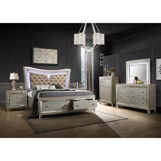 Best Quality Furniture Venetian 6 Piece Bedroom Set