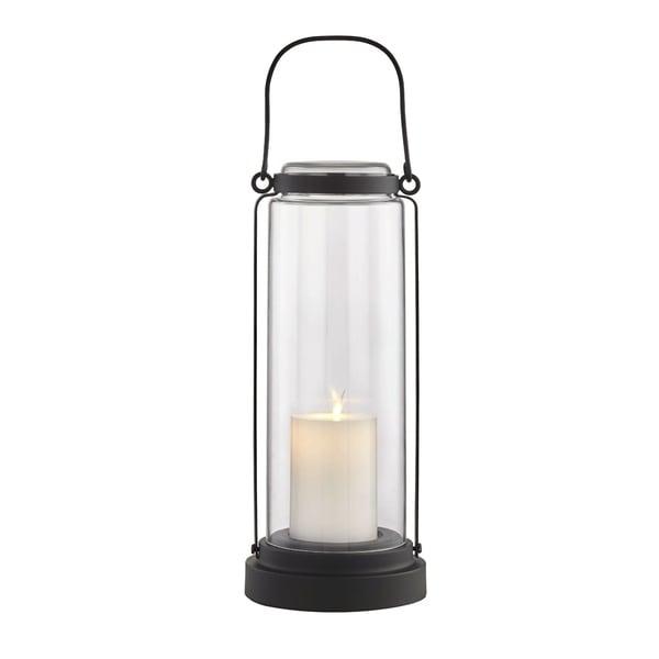 Fillmore 1-light Black Outdoor LED Table Lantern