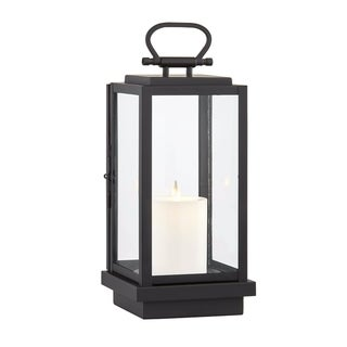 Stanton 1-light Black Outdoor LED Table Lantern