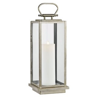 Stanton 1-light Champagne Silver Outdoor LED Floor Lantern