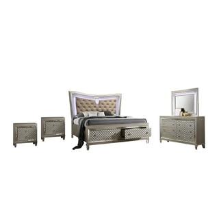 Best Quality Furniture Venetian 5 Piece Bedroom Set