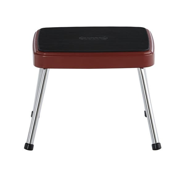 Enjoyable Shop Cosco Stylaire Retro One Step Step Stool Free Caraccident5 Cool Chair Designs And Ideas Caraccident5Info