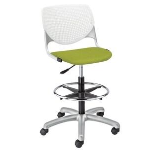 KFI KOOL Drafting Stool, Upholstered Seat