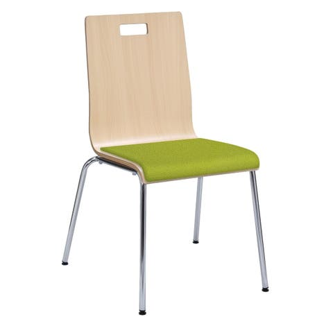 KFI JIVE Series Cafe Chair, Upholstered Seat