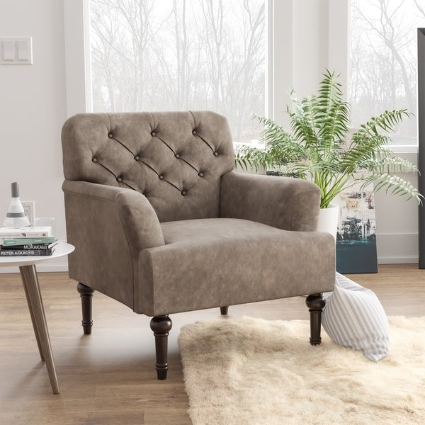 Furniture of America Purani Tufted Wide Accent Chair. Opens flyout.
