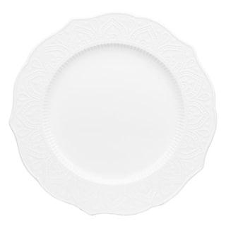 "10 Strawberry Street Dahlia 10.5"" Dinner Plate, Set of 6"