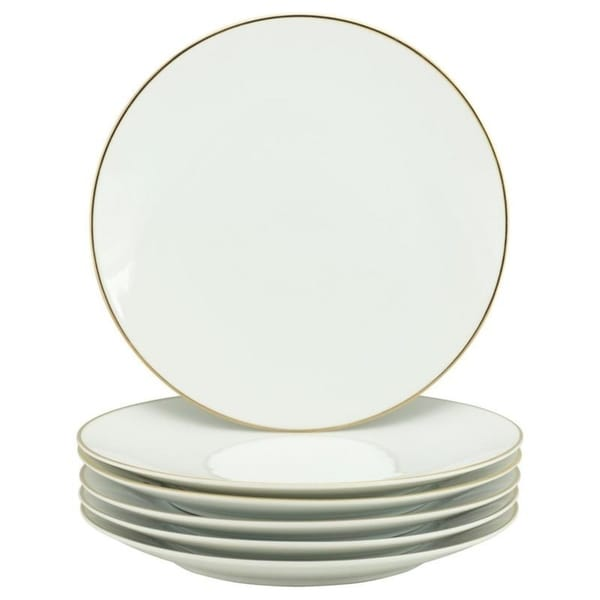 10 Strawberry Street Coupe Gold Line Dinner Plate, Set of 6. Opens flyout.