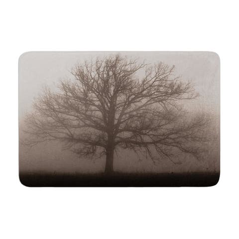 "Angie Turner ""Lonely Tree"" Memory Foam Bath Mat"