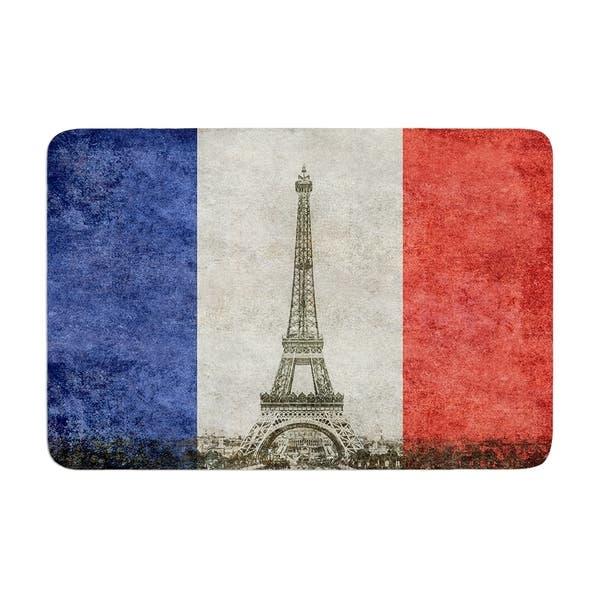 Bruce Stanfield Vintage Paris Memory Foam Bath Mat Overstock 28445966