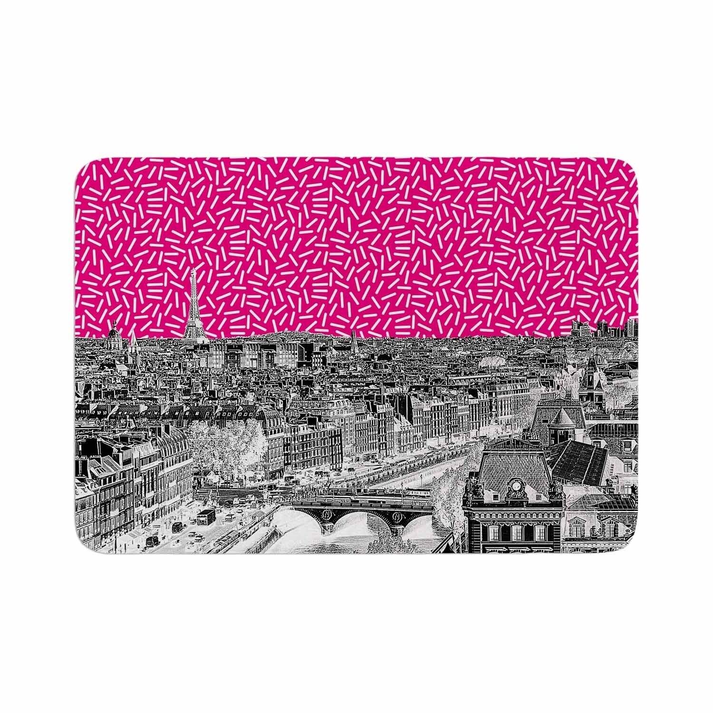 Shop Stephanie Eden Pop Paris Memory Foam Bath Mat On Sale Overstock 28447196