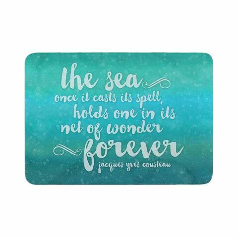 "Noonday Design ""The Sea"" Memory Foam Bath Mat"