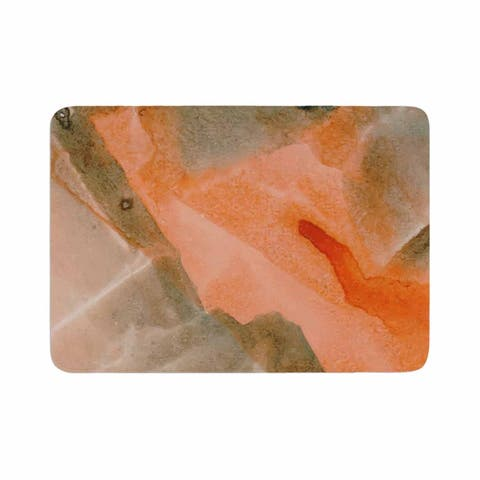 "mmartabc ""Watercolor Stains"" Memory Foam Bath Mat"