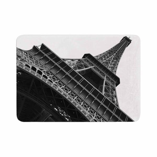 Susan Sanders Eiffel Tower Paris Memory Foam Bath Mat Overstock 28449717