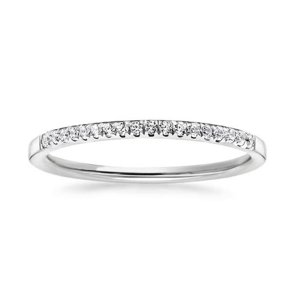 Stackble Eternity Anniversary Band Ring 2.64 Tcw White /& Blue Round Cut Fully Eternity Wedding Band In 925 Sterling Silver For Womens