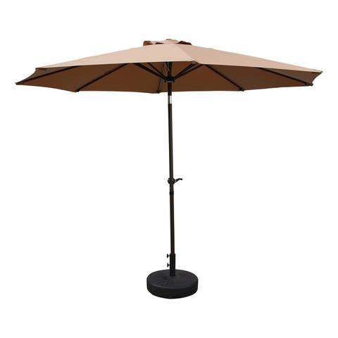Nunam Iqua Aluminum 10-foot Patio Umbrella by Havenside Home