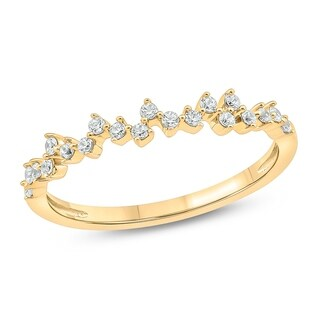 Cali Trove 1 20 Cttw Diamond Anniversary Ring Made In 10Kt Yellow Gold