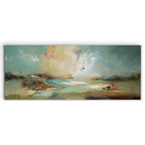 Gestural Land -Gallery Wrapped Canvas