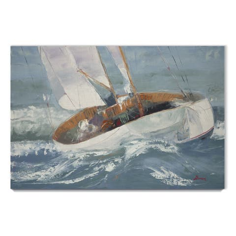 Out to Sea -Gallery Wrapped Canvas