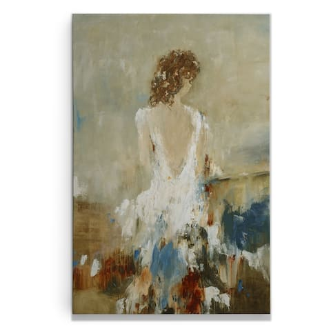 Elegant Moment III -Gallery Wrapped Canvas