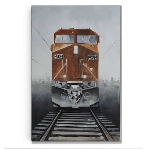 Last Stop -Gallery Wrapped Canvas