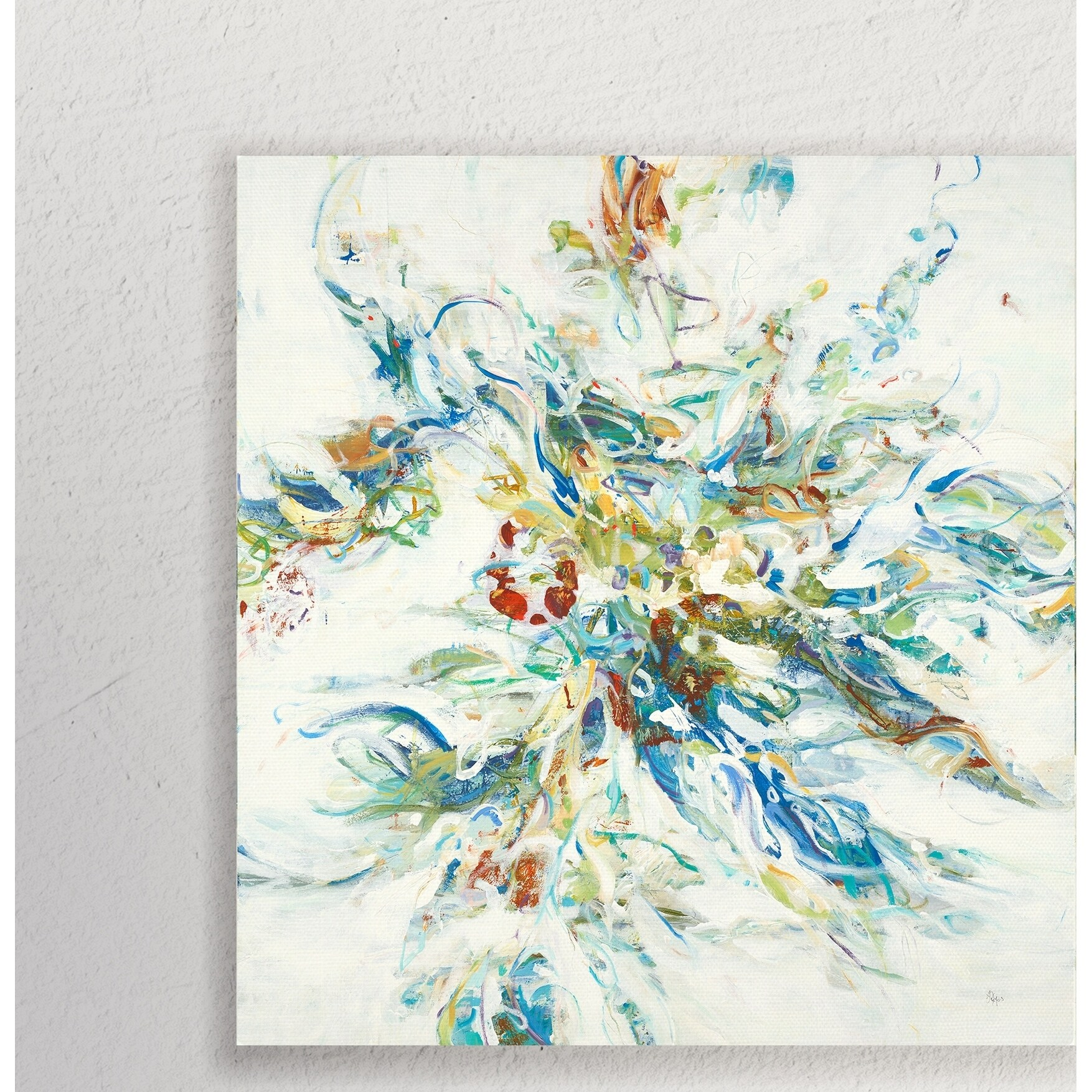 Nature S Flow Gallery Wrapped Canvas Overstock 28454944