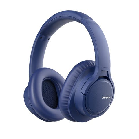 Mpow H7 Bluetooth Headphones Stereo Wireless Over-Ear Headphones with Mic Memory-protein Ear Cushions for Cellphone/Tablets/TV