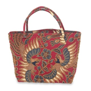 Link to Handmade Sawunggaling Dance Beaded Cotton Batik Shoulder Bag (indonesia) Similar Items in Shop By Style