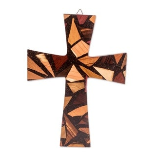 Love And Hope Reclaimed Wood Wall Cross