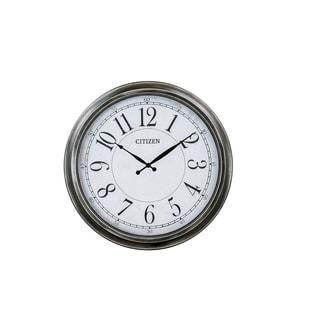 CITIZEN Gallery Indoor/Outdoor White Dial Clock
