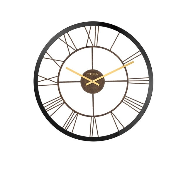 CITIZEN Gallery Open Dial XL Round Wall Clock