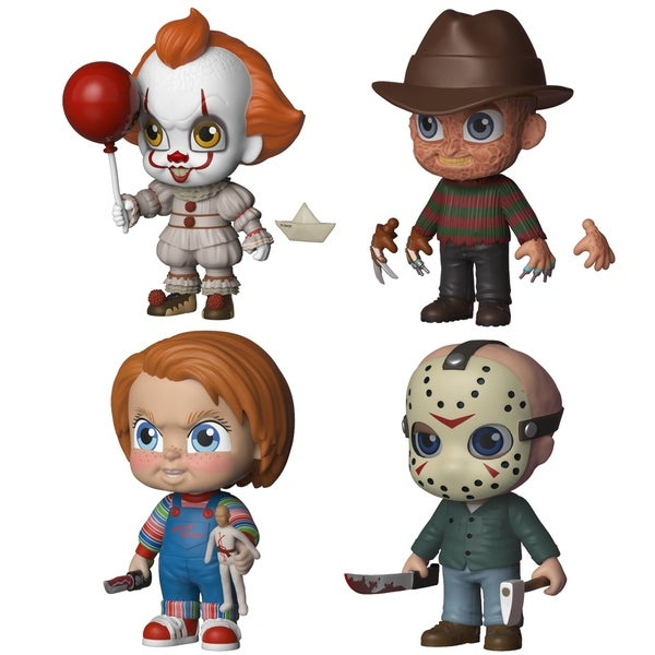 Shop Funko 5 Star Horror Collectors Set 1 Pennywise Freddy