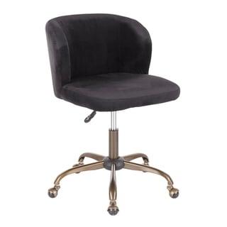 Fran Velvet Task Chair