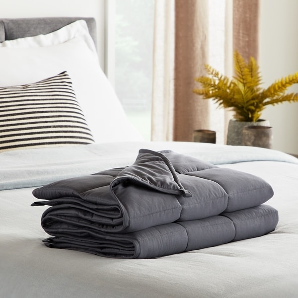 LUCID Comfort Collection Weighted Blanket
