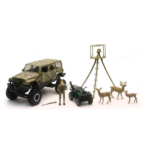 Jeep Wrangler Deer Hunting Set