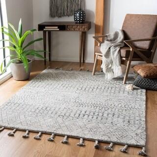 Safavieh Handmade Casablanca Shag Rifka Tribal Wool Rug