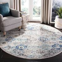 Safavieh Madison Avery Vintage Botanical Rug - 11' Round