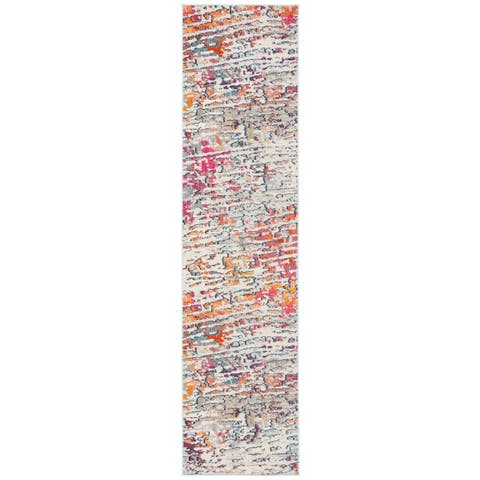 "Safavieh Madison Geeke Vintage Abstract Rug - 2'2"" x 12' Runner"