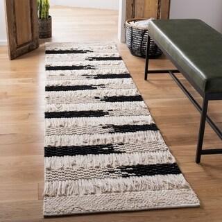 Safavieh Handmade Natura Chika Stripe Wool Rug